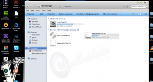 Image on how to recover files from a corrupted flash drive