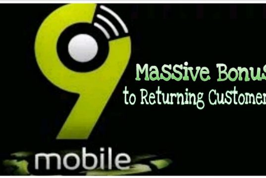 9mobile massive bonus to returning customers